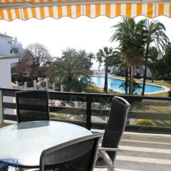 Отель Coral Beach Aparthotel 4* Улучшенные апартаменты с 2 отдельными кроватями фото 6