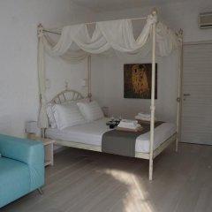 Отель Ariadni Blue 3* Стандартный семейный номер с разными типами кроватей фото 3