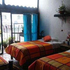 Hostel Mexico Df Airport Кровать в общем номере фото 2