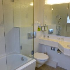 Отель Hauser an der Universität Германия, Мюнхен - 1 отзыв об отеле, цены и фото номеров - забронировать отель Hauser an der Universität онлайн ванная