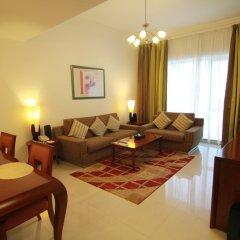 Star Metro Deira Hotel Apartments 4* Люкс с различными типами кроватей фото 14