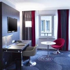 Отель Hilton Brussels Grand Place 4* Стандартный номер с разными типами кроватей фото 3