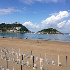 Отель Pension Kaixo Испания, Сан-Себастьян - отзывы, цены и фото номеров - забронировать отель Pension Kaixo онлайн пляж