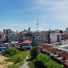 Апартаменты Parinya's Apartment Паттайя балкон