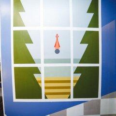 Art Hostel Contrast Стандартный номер с 2 отдельными кроватями (общая ванная комната) фото 4