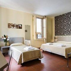 Отель Albergo Firenze 3* Стандартный номер с различными типами кроватей фото 9