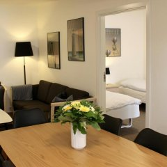 Апартаменты Odense Apartments Апартаменты с 2 отдельными кроватями