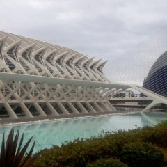 Отель ApartUP L'Umbracle Испания, Валенсия - отзывы, цены и фото номеров - забронировать отель ApartUP L'Umbracle онлайн бассейн фото 2