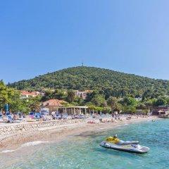 Отель Dubrovnik Luxury Residence-L`Orangerie пляж