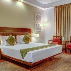 Отель Treebo Tryst Amber Стандартный номер с двуспальной кроватью фото 5