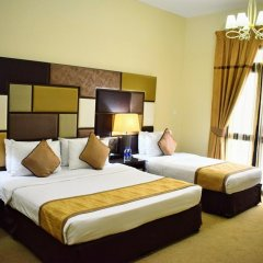 Al Waleed Palace Hotel Apartments Oud Metha 4* Студия с различными типами кроватей фото 4