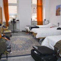 Rixpack Hostel Neukölln Кровать в общем номере с двухъярусной кроватью фото 8