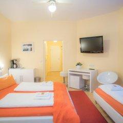 Отель City Guesthouse Pension Berlin 3* Люкс с разными типами кроватей фото 6