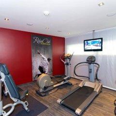 Отель Mercure Salzburg Central Австрия, Зальцбург - 3 отзыва об отеле, цены и фото номеров - забронировать отель Mercure Salzburg Central онлайн фитнесс-зал фото 3