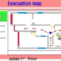 Отель Guest House Julien Стандартный номер с различными типами кроватей фото 49