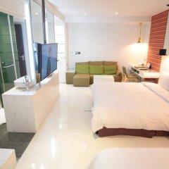 Grammos Hotel 3* Номер Делюкс с различными типами кроватей фото 6