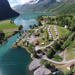 Отель Oldevatn Camping
