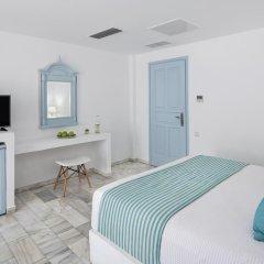 Отель Santorini Kastelli Resort 5* Улучшенный номер с различными типами кроватей фото 10
