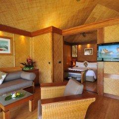 Отель InterContinental Resort and Spa Moorea 4* Бунгало с различными типами кроватей фото 7
