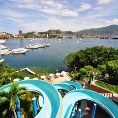 Отель Alba Suites Acapulco пляж