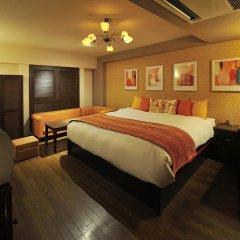 Отель Fukuoka Chapel Coconuts Hotel Ipolani (Adult Only) Япония, Порт Хаката - отзывы, цены и фото номеров - забронировать отель Fukuoka Chapel Coconuts Hotel Ipolani (Adult Only) онлайн комната для гостей фото 5