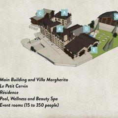 Отель Mont Cervin Palace 5* Стандартный номер с различными типами кроватей