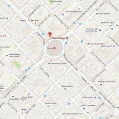 Апартаменты Click&flat Eixample Derecho Apartments Барселона сейф в номере