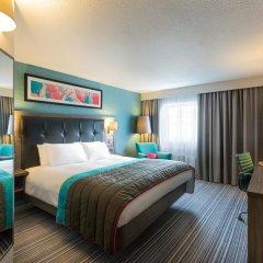 Отель Jurys Inn Liverpool 4* Представительский номер с различными типами кроватей фото 2