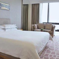 Huaqiang Plaza Hotel Shenzhen 4* Номер Делюкс с различными типами кроватей фото 7