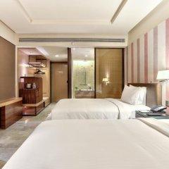 Отель Doubletree By Hilton Sukhumvit 5* Номер Делюкс фото 2