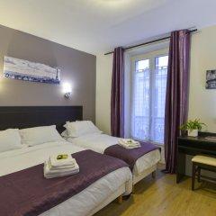 Отель Hôtel du Quai de Seine 2* Стандартный номер с различными типами кроватей фото 6