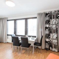 Отель Forenom Aparthotel Helsinki Herttoniemi Стандартный номер с различными типами кроватей фото 5