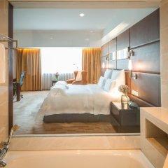 Отель Pullman Guangzhou Baiyun Airport 5* Улучшенный номер с различными типами кроватей фото 2