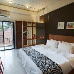 Отель Euanjitt Chill House 3* Стандартный номер с различными типами кроватей фото 4