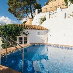 Отель Villa Sa Caleta Испания, Льорет-де-Мар - отзывы, цены и фото номеров - забронировать отель Villa Sa Caleta онлайн бассейн фото 3