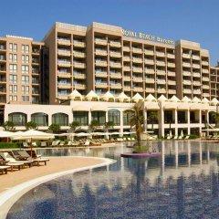 Отель Bulgarienhus Royal Beach Apartments Болгария, Солнечный берег - отзывы, цены и фото номеров - забронировать отель Bulgarienhus Royal Beach Apartments онлайн бассейн фото 2