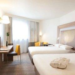 Отель Novotel Paris Les Halles 4* Представительский номер с 2 отдельными кроватями