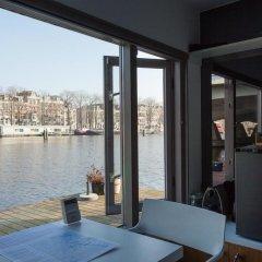 Отель Houseboat Little Amstel балкон