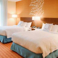 Отель Fairfield Inn & Suites by Marriott Columbus Dublin 2* Стандартный номер с 2 отдельными кроватями