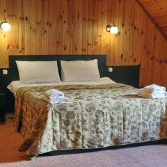 Гостиница Снежный барс Домбай комната для гостей фото 4