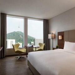 Отель Courtyard by Marriott Seoul Namdaemun 4* Номер Делюкс с различными типами кроватей фото 3