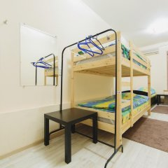 Мини-Отель Компас Кровать в общем номере с двухъярусной кроватью фото 26