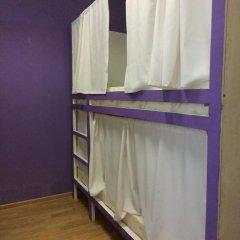 Хостел Плед на Самотёчной Кровать в общем номере с двухъярусной кроватью фото 18
