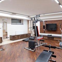 Отель Młoda Europa фитнесс-зал