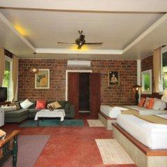 Отель Green View Village Resort 3* Стандартный семейный номер с двуспальной кроватью фото 6