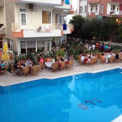 Отель Canlar Otel Сиде бассейн