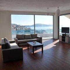 Апартаменты Apartments Serxhio Люкс с различными типами кроватей фото 9