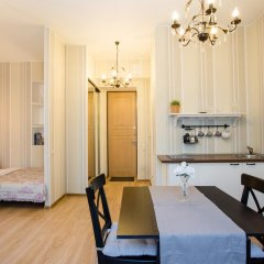 Апартаменты на Бронной Улучшенная студия разные типы кроватей фото 7