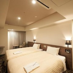 Отель Sotetsu Fresa Inn Ginza-Nanachome 3* Номер с различными типами кроватей фото 4