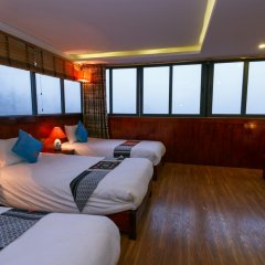 Fansipan View Hotel 3* Люкс с различными типами кроватей фото 3
